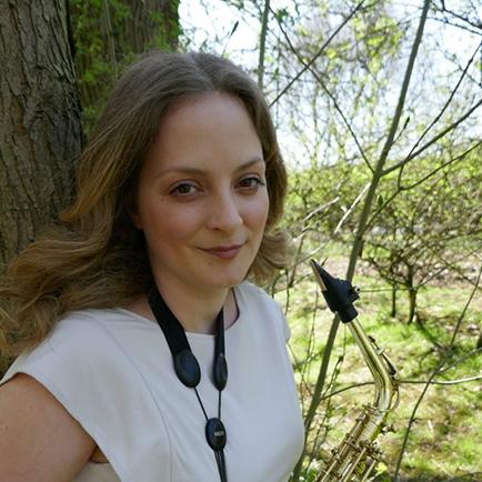 Charlotte Atack Saxophonist profile image Camscott Leisure