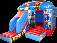 Optimized Super hero Bounce house