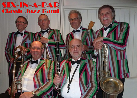 Six In A Bar swing band profile image