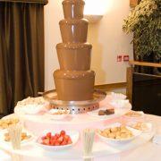 chocolate fountain setup 180x180 1
